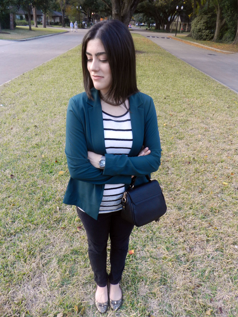 Blazer in Green