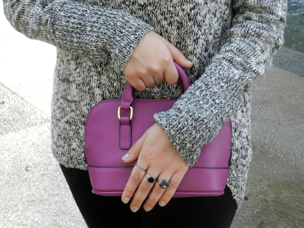 Magenta Mini Satchel